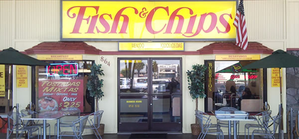 Fish and Chips Alisal