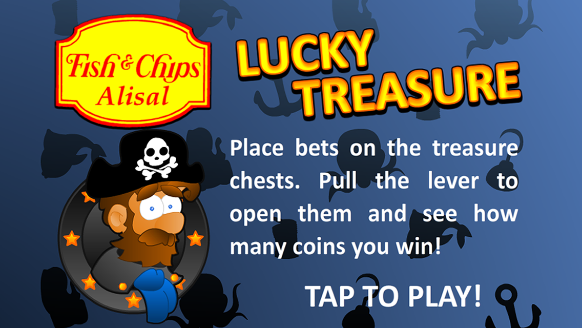 Fish&Chips Lucky Treasure -  Free mobile game app.
